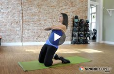 This will be your new favorite abs workout: Not a single crunch, and only 10 minutes! | via @SparkPeople #core #video #fitness #exercise