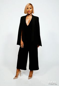Tuesday's 'The Real' Style Breakdown   TheReal.com @therealeve styled by Lexyrose Boiardo