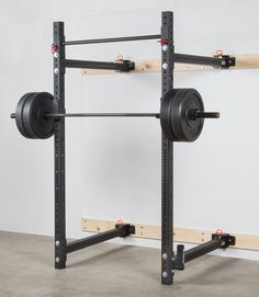 Rogue RML-3W Fold Back Wall Mount Rack | Rogue Fitness