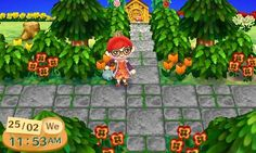 Animal Crossing: New Leaf QR Code Paths Pattern, nostrils: spring has SPRONG which means it's time...