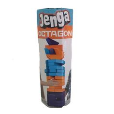 "<h3 style=""text-align: center;"" data-mce-fragment=""1""><em>Towering fun for Jenga fans!</em></h3> <p data-mce-fragment=""1"">This fun game is all about stacking that uses skill and a dash of luck. Jenga Octagon uses the same concept but features assorted<span data-mce-fragment=""1""> shapes and colours that must be pulled, pushed and stacked to keep the octagon-shaped tower from falling. </span>The winner is the last player to remove a block without causing the stack to crash. A soaring game to…"