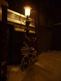 Beacon Hill alley, Boston, MA