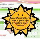 Morning Meetings Second Grade Powerpoints 135 Meeting Slides (Follows Saxon) - Amateur Teacher $