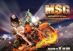 #LoveToSeeMSG13feb - MSG The Messenger of God, an upcoming #RamRahim movie releasing on 13 Feb 2015.@ bit.ly/1takvvw