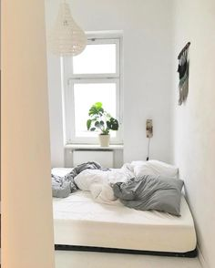 Kuschelecke Gemütliche Schlafniesche mit großem Bett und