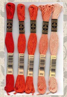 300m spool DARK FUCHSIA 107 Brother satin finish embroidery thread