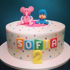 Bolo Pocoyo cake