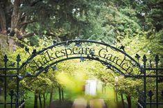 The venue. Shakespeare Garden Golden Gate Park (San Francisco, CA)
