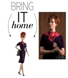 """Bring It Home: Mad Men Joan Holloway Doll"" by polyvore-editorial ❤ liked on Polyvore featuring interior, interiors, interior design, home, home decor, interior decorating and bringithome"