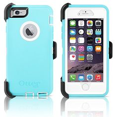 "OtterBox Defender Series Case & Holster for Apple iPhone 6 4.7"" (Ocean Mist) - Light Teal / White OtterBox http://www.amazon.com/dp/B00YST05N6/ref=cm_sw_r_pi_dp_9HjCwb15YJ1HP"