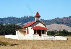 Old School House in San Simeon, CA