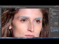 photoshop CC - Tratamento de Imagens - Efeito Pele de boneca - YouTube