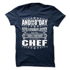 GOD MADE CHEF FUNNY T-SHIRT T Shirt, Hoodie, Sweatshirts - cheap t shirts #shirt #style