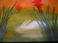 Waldorf Watercolor Lesson for kids: http://syrendell.blogspot.com/2010/07/waldorf-watercolor-ages-3-12-video.html
