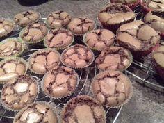 Browniecakejes naar een recept van de koekjesfee. Delicious!