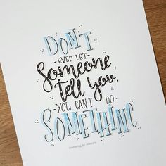 I think this is a wonderful quote, Handlettering quote Calligraphy Quotes Doodles, Brush Lettering Quotes, Doodle Quotes, Handwritten Quotes, Calligraphy Letters, Typography Letters, January Lettering, Uni Posca, Sketch Note