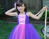 RAPUNZEL Princess Tutu Dress
