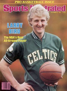 buy Larry Bird of The Celtics Sports Illustrated cover reprints Basketball Workouts, Basketball Legends, Sports Basketball, Celtics Basketball, Basketball Players, Basketball History, Basketball Stuff, Basketball Pictures, College Basketball