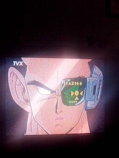 Viendo DRAGON BALL Z en TVX.