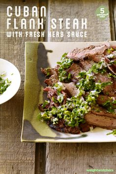 If you love mojitos then you'll love the cocktail-inspired sauce in this Cuban Flank Steak recipe.