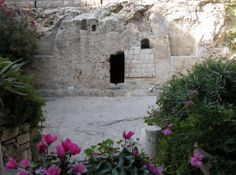 Golgotha or Calvary is in close proximity to the Damascus gate on the north side of Jerusalem near the Garden Tomb. The Garden Tomb area is along an escarpment north of the city wall of Jerusalem...this is the authentic burial site of Christ. by Inspirational.Images, via Flickr