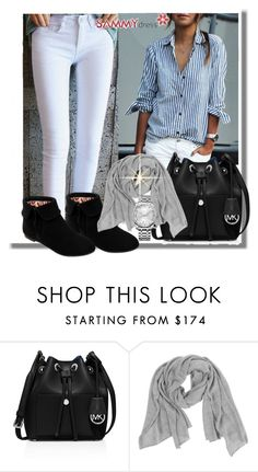 """""""Summydress 37"""" by azra-90 ❤ liked on Polyvore featuring MICHAEL Michael Kors and Calvin Klein"""