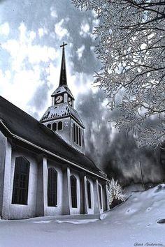 Church In Kuusamo, Finland by Guna Andersone