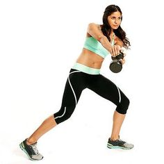 Get fit and in shape with this effective 20-minute workout that will help you lose weight and tighten your core. Use weights to help burn fat fast and tone your muscles.