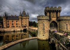La Clayette castle - Ch�teau La Clayette - Burgundy, France