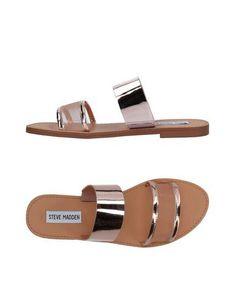 Steve Madden Women Sandals on YOOX. The best online selection of Sandals Steve Madden. Toe Ring Sandals, Shoes Flats Sandals, Slipper Sandals, Shoe Boots, Flat Sandals, Pink Sandals, Fashion Slippers, Fashion Boots, Leather Slippers