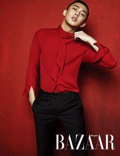 Yoo Ah In - Harper's Bazaar Magazine August Issue '15