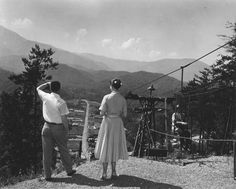 Tennessee State Library and Archives: 1957 Gatlinburg Skylift Gatlinburg Sky Lift, Ober Gatlinburg, Nc Mountains, Great Smoky Mountains, Cades, East Tennessee, Chattanooga Tennessee, Smoky Mountain National Park, Back Road