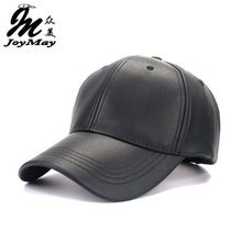 358dd7672e4 2016 New High quality Unisex cap PU solid color HIP HOP snapback Baseball  Cap Adjustable HAT B325-in Baseball Caps from Men s Clothing   Accessories  on ...