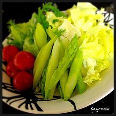 シャキッとサラダ - 23件のもぐもぐ - グリーンサラダ by Kaycook