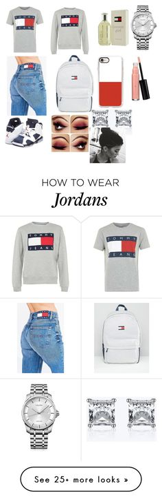 """Tommy"" by lovepink221 on Polyvore featuring Tommy Hilfiger, Casetify, NIKE, Calvin Klein and Laura Geller"