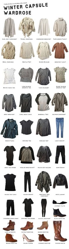 We are currently 15 days into the month of December, which means that December is really half way over… And I still haven't shared with you my winter capsule wardrobe that I began (almost) at the begi