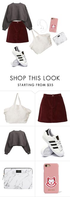 """""""Outfit"""" by elzikaa on Polyvore featuring The Beach People, adidas, Wouf and Miu Miu"""
