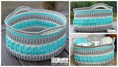 If you have a passion for home decorations, these awesome crochet baskets will instantly make your home look so many times more beautiful.This beautiful crochet basket is perfect to hold your stash yarn or to use in the bathroom. With The Sea Glass Basket by Kathy Lashley is a lovely project with a fun and …