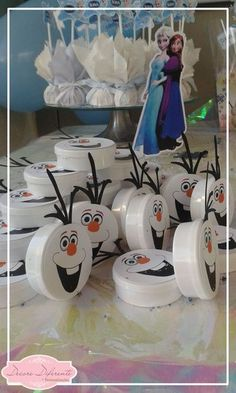 Elsa Birthday Party, Olaf Party, Frozen Birthday Party, Olaf Frozen, Anna Frozen, Disney Frozen, Frozen Party Decorations, Birthday Decorations, Festa Frozen Fever