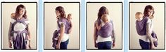 Secure High Back Carry / SHBC {from Babywearing 102: Wrapping 360 Project} ***mid-length wrap carry