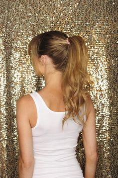 Cashmere hair ponytail how to make a gorgeous ponytail with how to make a gorgeous ponytail with cashmere hair extensions the best hair extensions pmusecretfo Images