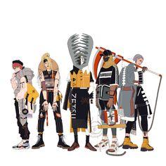 Naruto x fashion ☁️ akatsuki pt 1 ☁️ Naruto Uzumaki, Anime Naruto, Hinata, Neji E Tenten, Hidan And Kakuzu, Naruto Fan Art, Shikamaru, Kakashi, Deidara Akatsuki