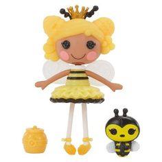 Mini Lalaloopsy Doll - Royal T. Honey Stripes