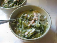 escarole and beans.