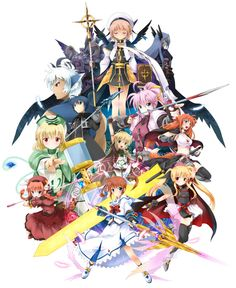 /Mahou Shoujo Lyrical Nanoha & Nanoha A's characters