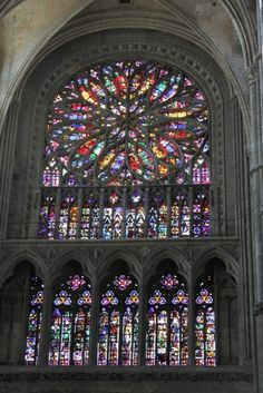 Nothing like 1000 year old Gothic stained glass