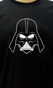 Camiseta Darth Vader Face - Camisetas Personalizadas, Engraçadas e Criativas