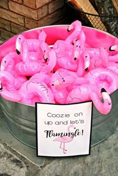These bachelorette party decorations are ideal for major bride vibes. From bachelorette party sashes to classy bachelorette party games, I've got you! Aloha Party, Luau Party, Summer Pool Party, Baby Party, Pink Flamingo Party, Flamingo Birthday, Flamingo Baby Shower, Flamingo Decor, Pink Flamingos