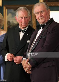 Prince Charles, Prince of Wales (L) and Prince Henrik of Denmark take part in a receiving line ahead of an official dinner at the Royal Palace on March 26, 2012 in Copenhagen, Denmark. Prince Charles, Prince of Wales and Camilla, Duchess of Cornwall are on a Diamond Jubilee tour of Scandinavia that takes in Norway, Sweden and Denmark.