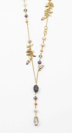 Crystal Reese Necklace in Ivory Agate